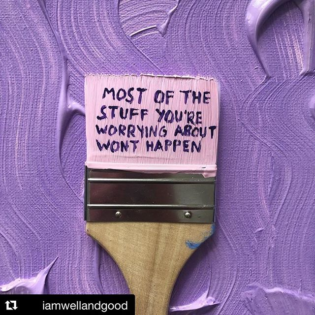 Clear out the worry, the stress and the fear. What's left is presence.  #Repost @iamwellandgood ・・・