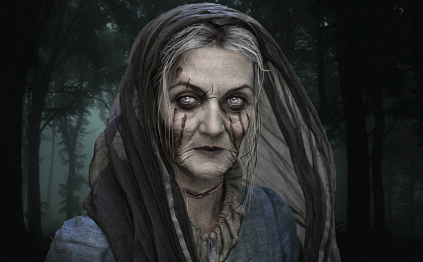 Catelyn Stark reanimated as Lady Stoneheart after Beric Dondarrion resurrects her with the help of Rhllor (God of Fire) by giving her the kiss of life, and thus he dies permanently. She goes on a revenge rampage after The Red Wedding.