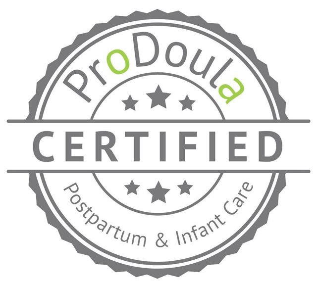 Officially CERTIFIED with @prodoula!!! 🎉🙌🏻💕🌿 Happy day!!
