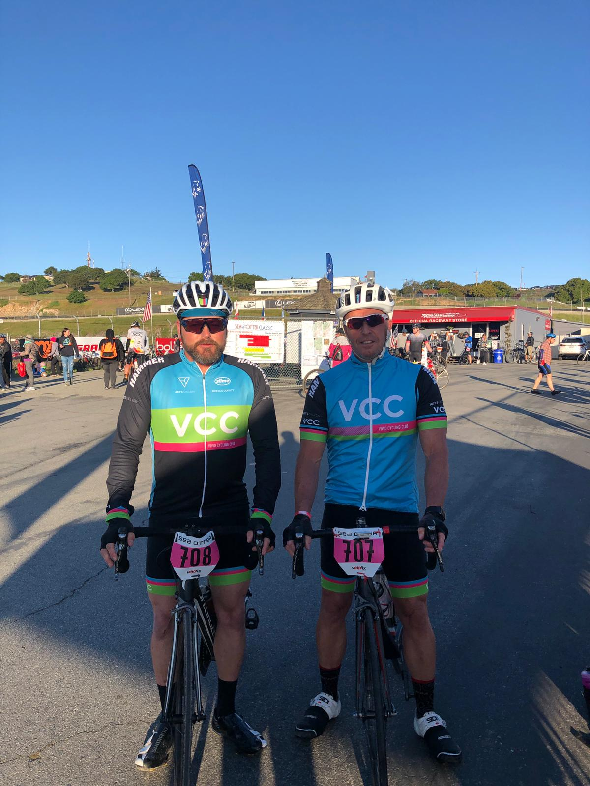 Eric Streiff (left) and another VCC Joe Valencia (right)