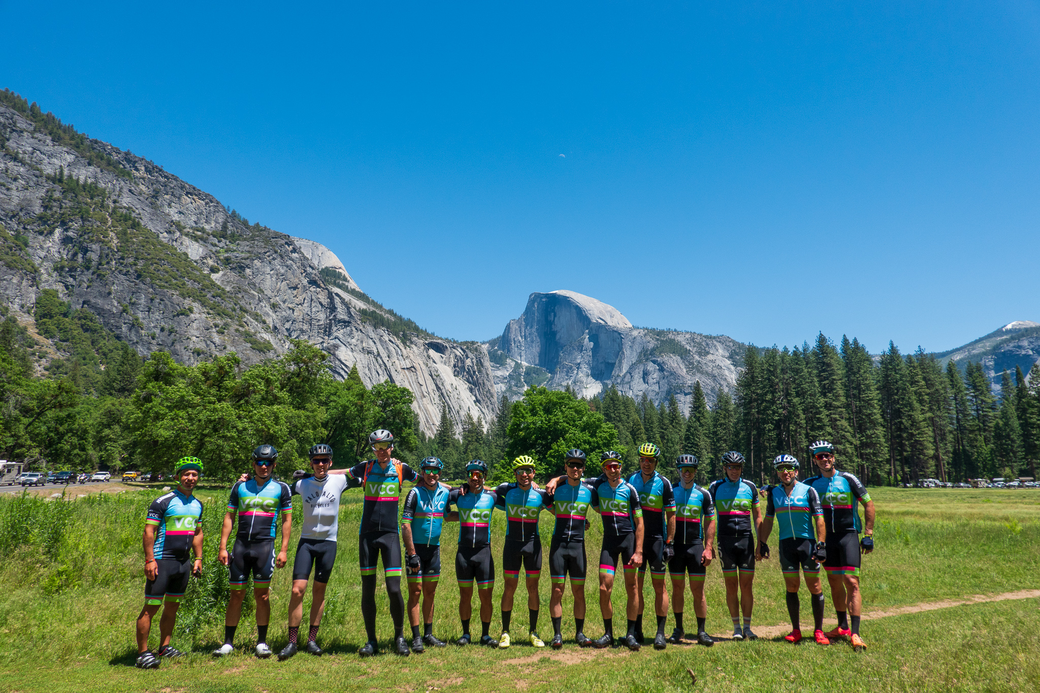 Group Yosemite Meadow Half Dome.jpg