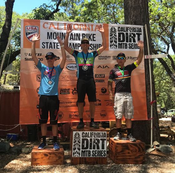 Dave Good on the top step of the podium. Way to go Dave!