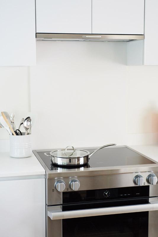 Sebonack Interior Design - Kitchen Redesign New Stove