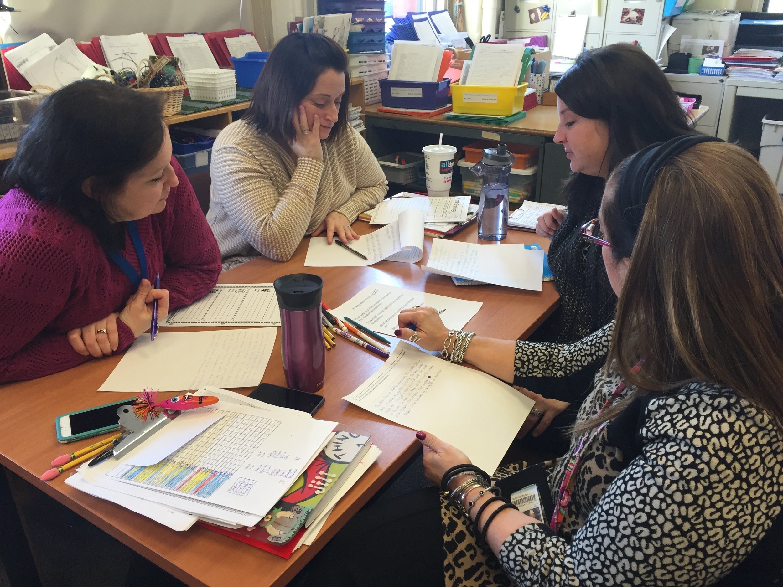 notice and describe student understandings and plan next teaching steps -