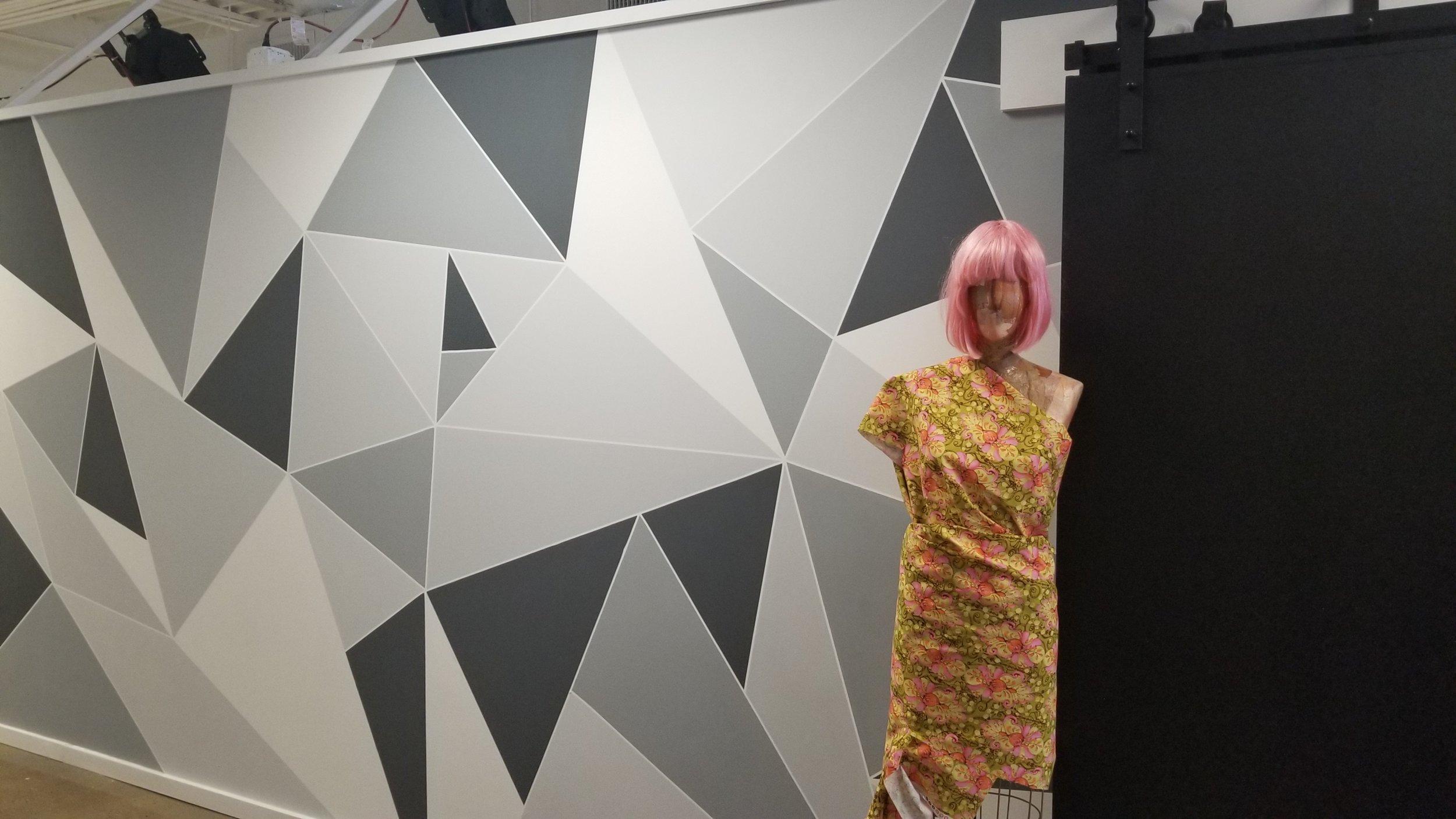 Modern Origami Wall