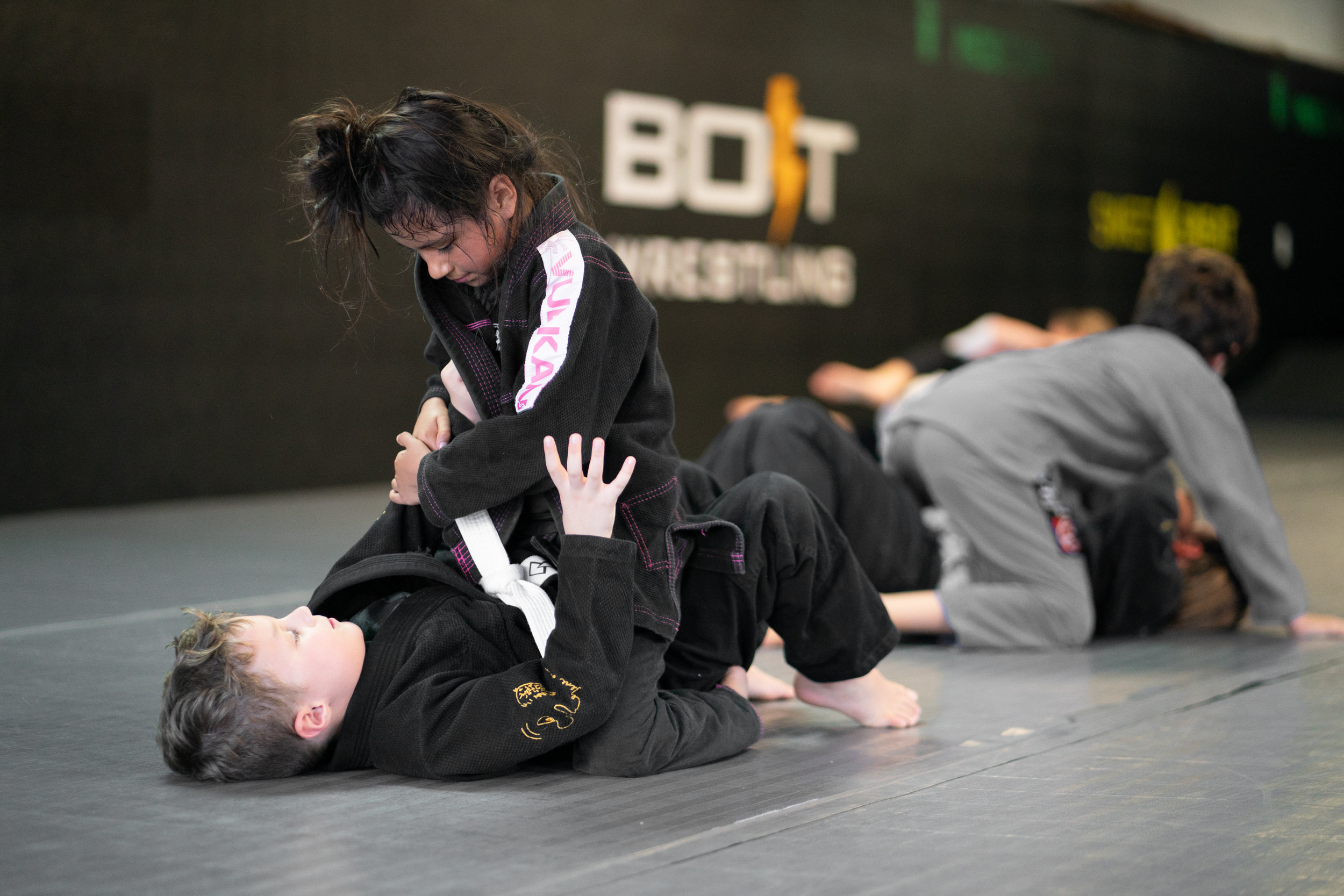 KIDS CLASSES   Jiu-Jitsu & Muay Thai