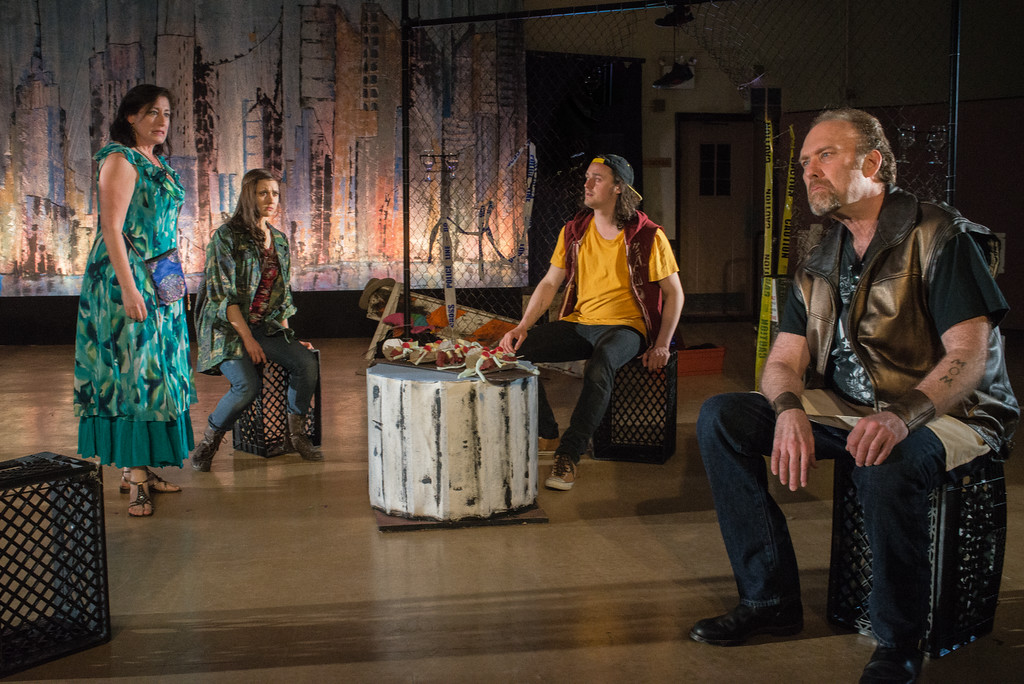 Laura Fois, Connie Castanzo, Noah Witke, Bill Christ (Photo: Martha Granger)