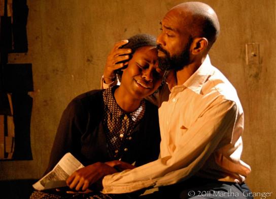 """On the Cusp"" - Medina Senghore, Craig Anthony Bannister (Photo: Martha Granger)"