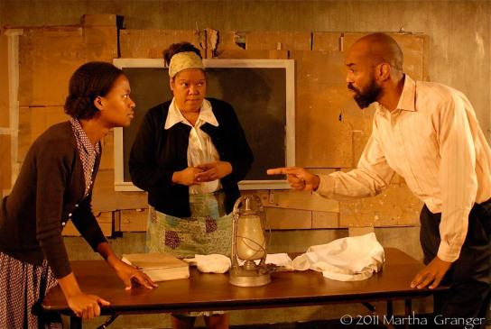 """On the Cusp"" - Medina Senghore, Lori Brown, Craig Anthony Bannister (Photo: Martha Granger)"