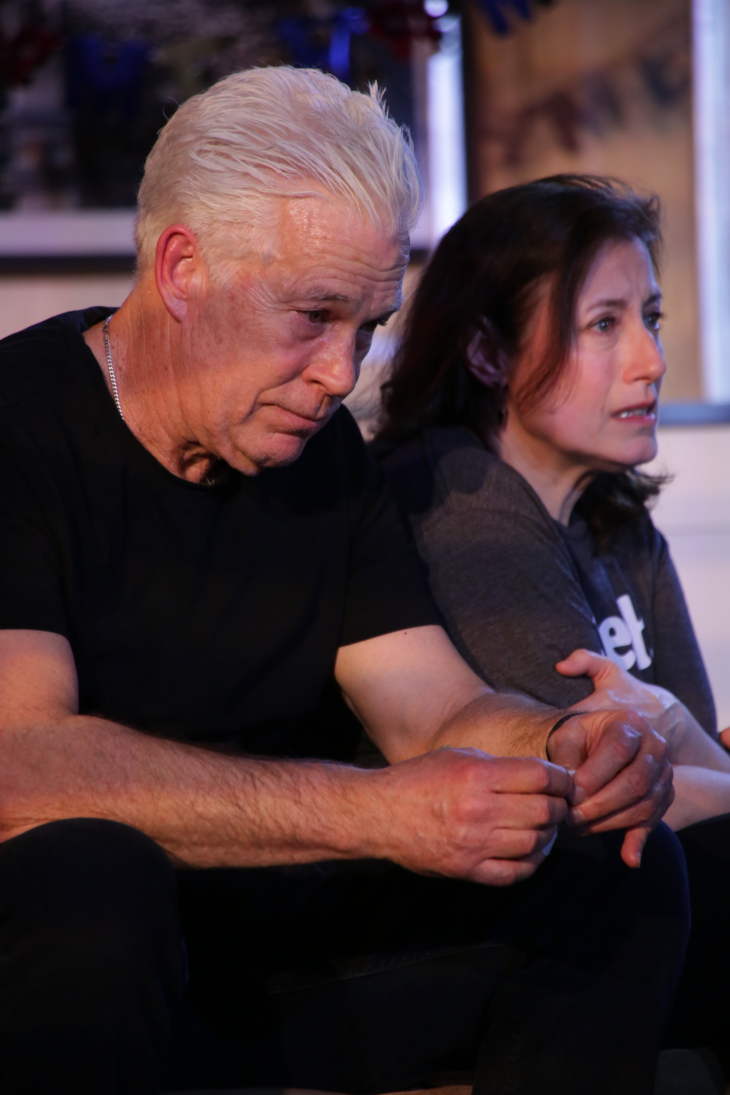 Doc Dougherty, Laura Fois (Photo by Gerry Goodstein)
