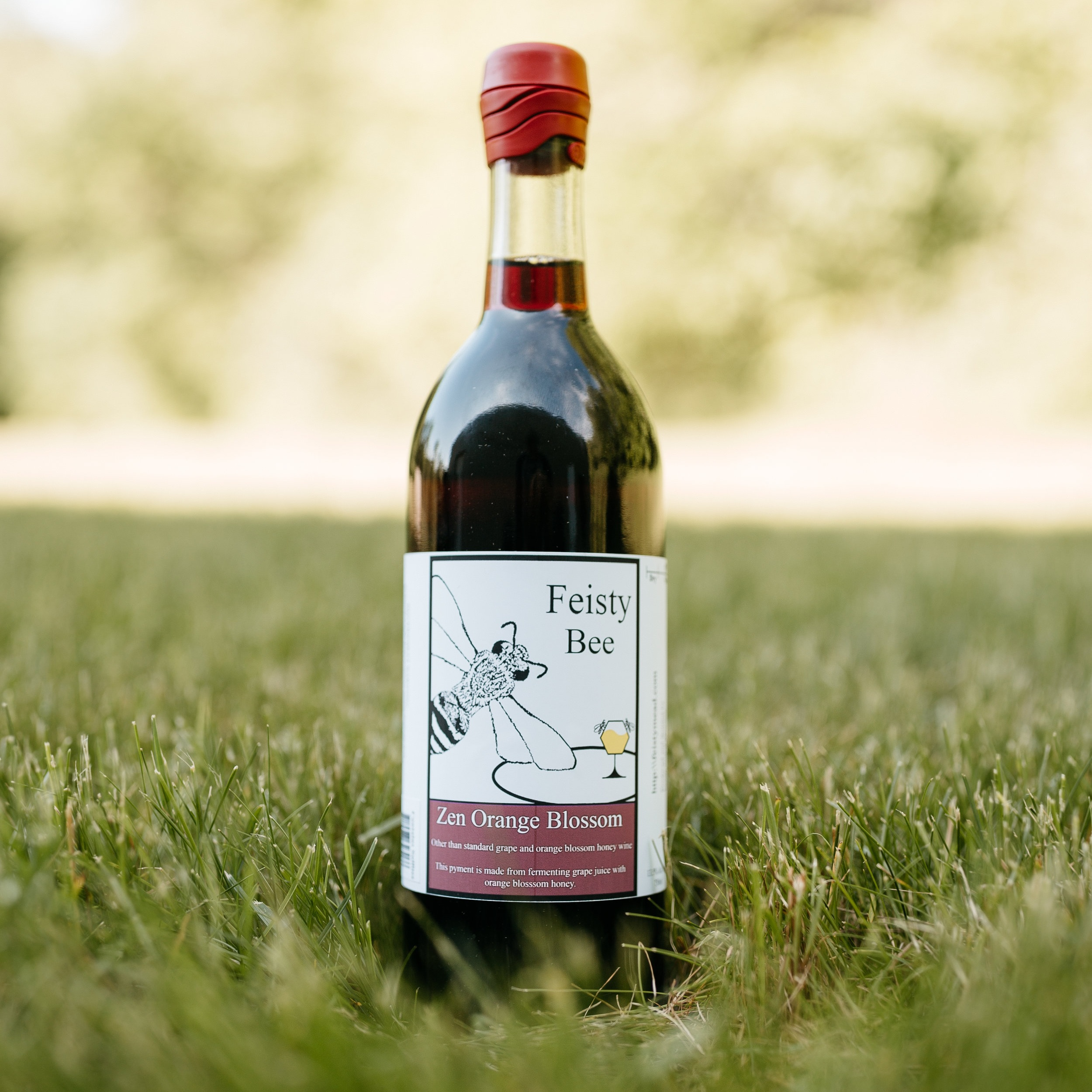 zen orange blossom pyment - The flavor is a terrific blend of orange blossom honey wine with tannins and flavor of a good zin. It has a sweet/tart finish, with lingering zin and orange flavors.
