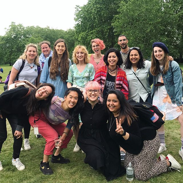 Pre-Superior @ @ri_science picnic in Green Park 💚 . Getting to see and catch up with many favourite humans here at the picnic and then after at the event - a great ending to a hectic couple of days!