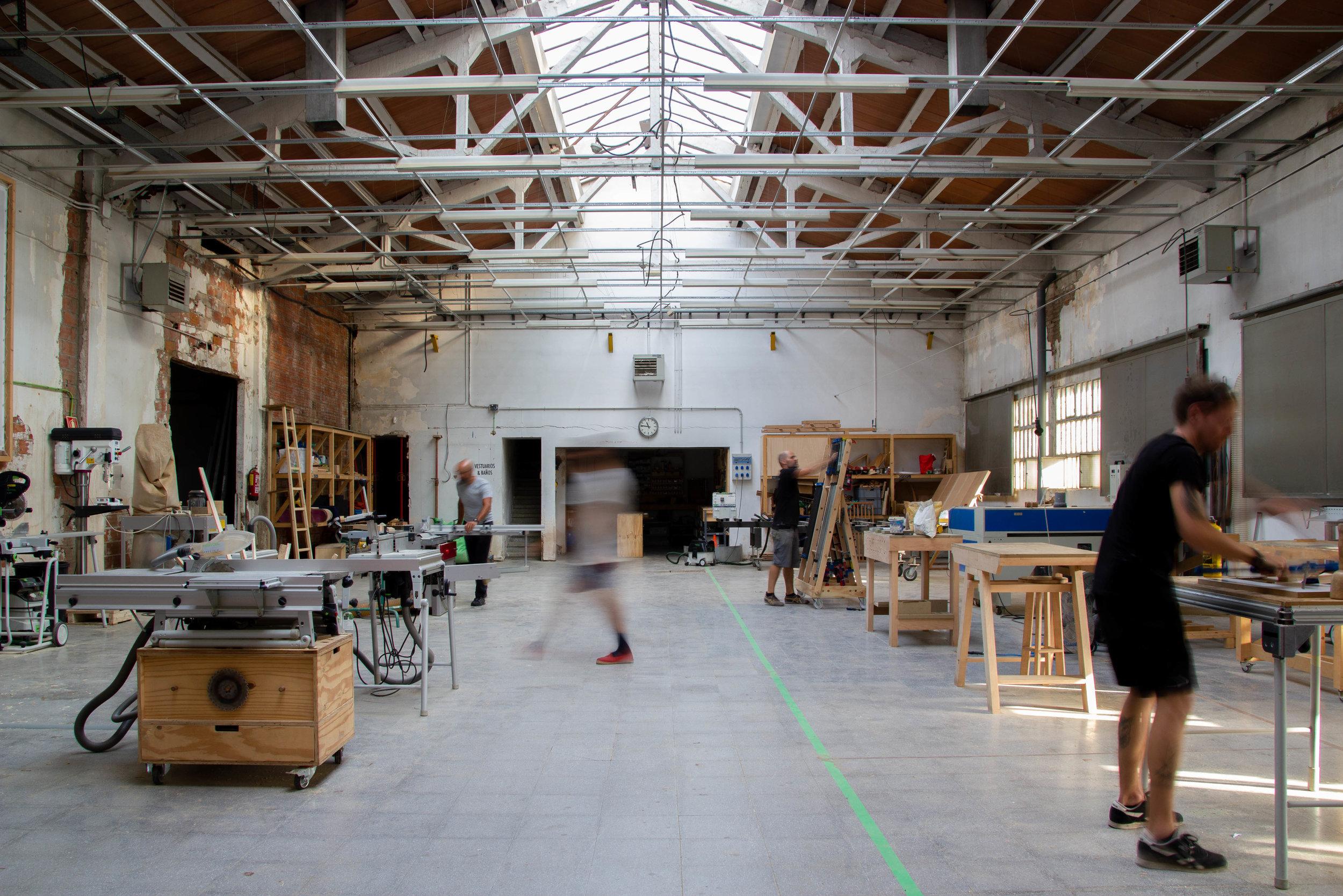 taller compartido de carpinteria