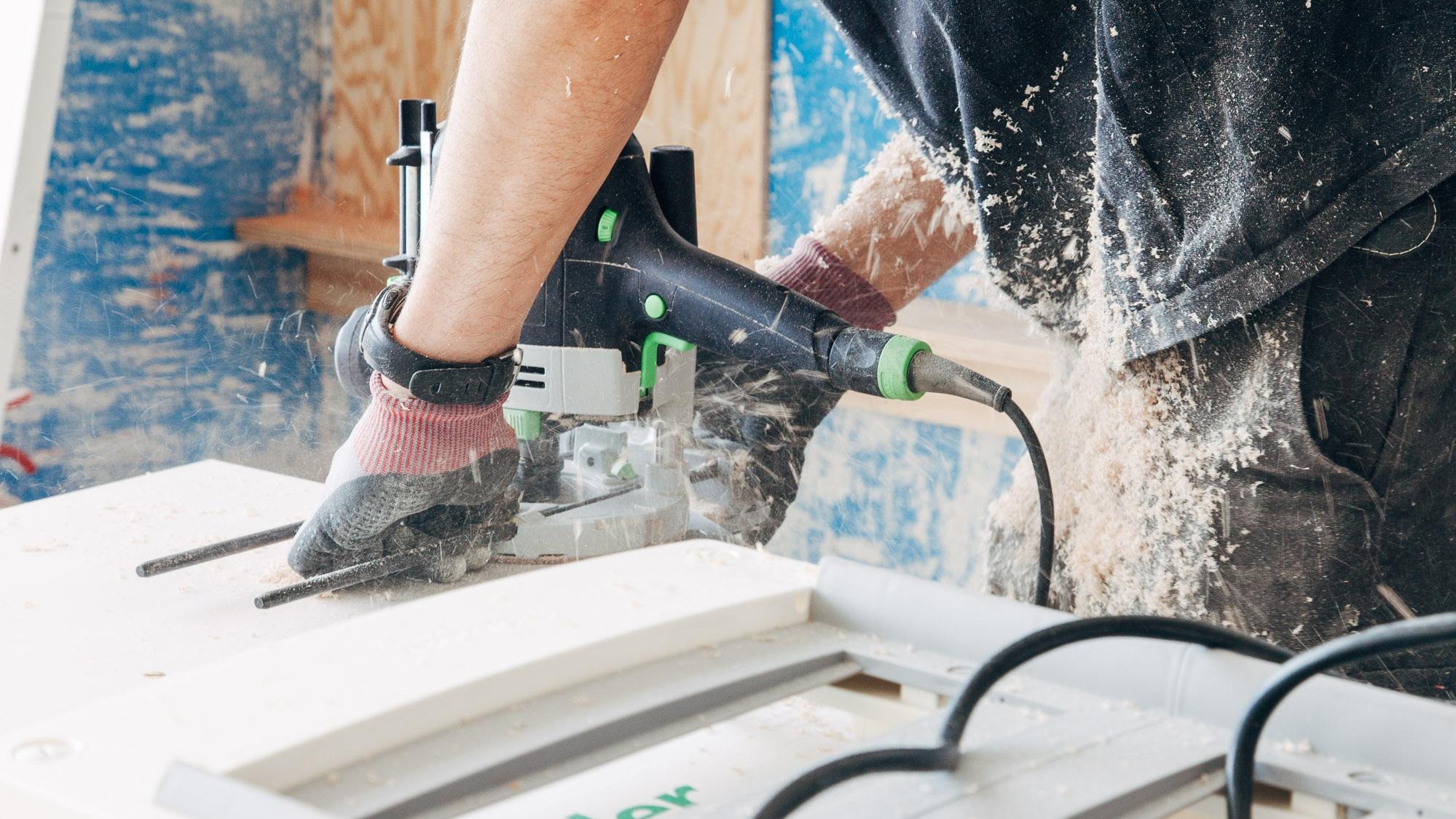 alquilar herramientas carpinteria