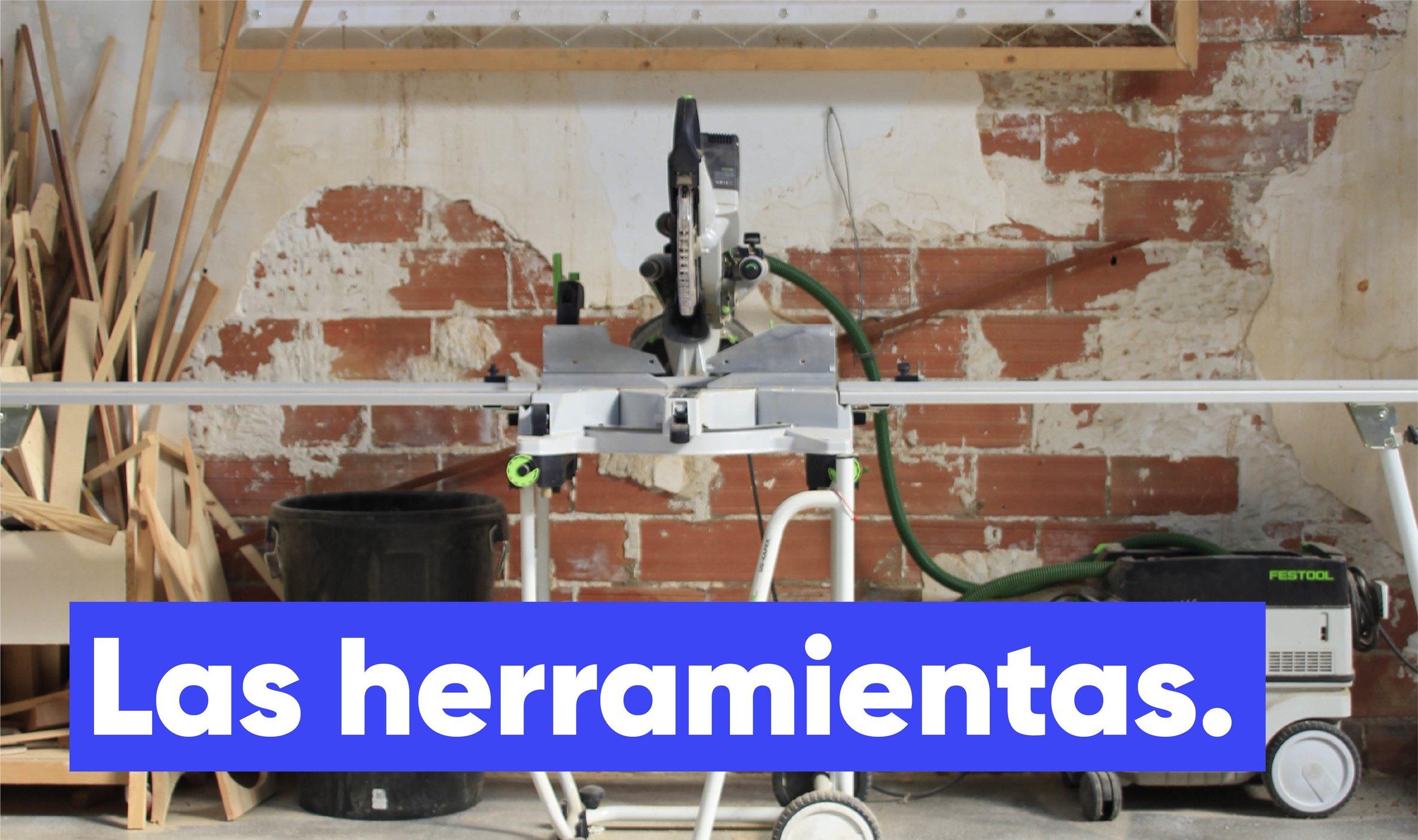 alquiler herramientas y máquinas de carpintería