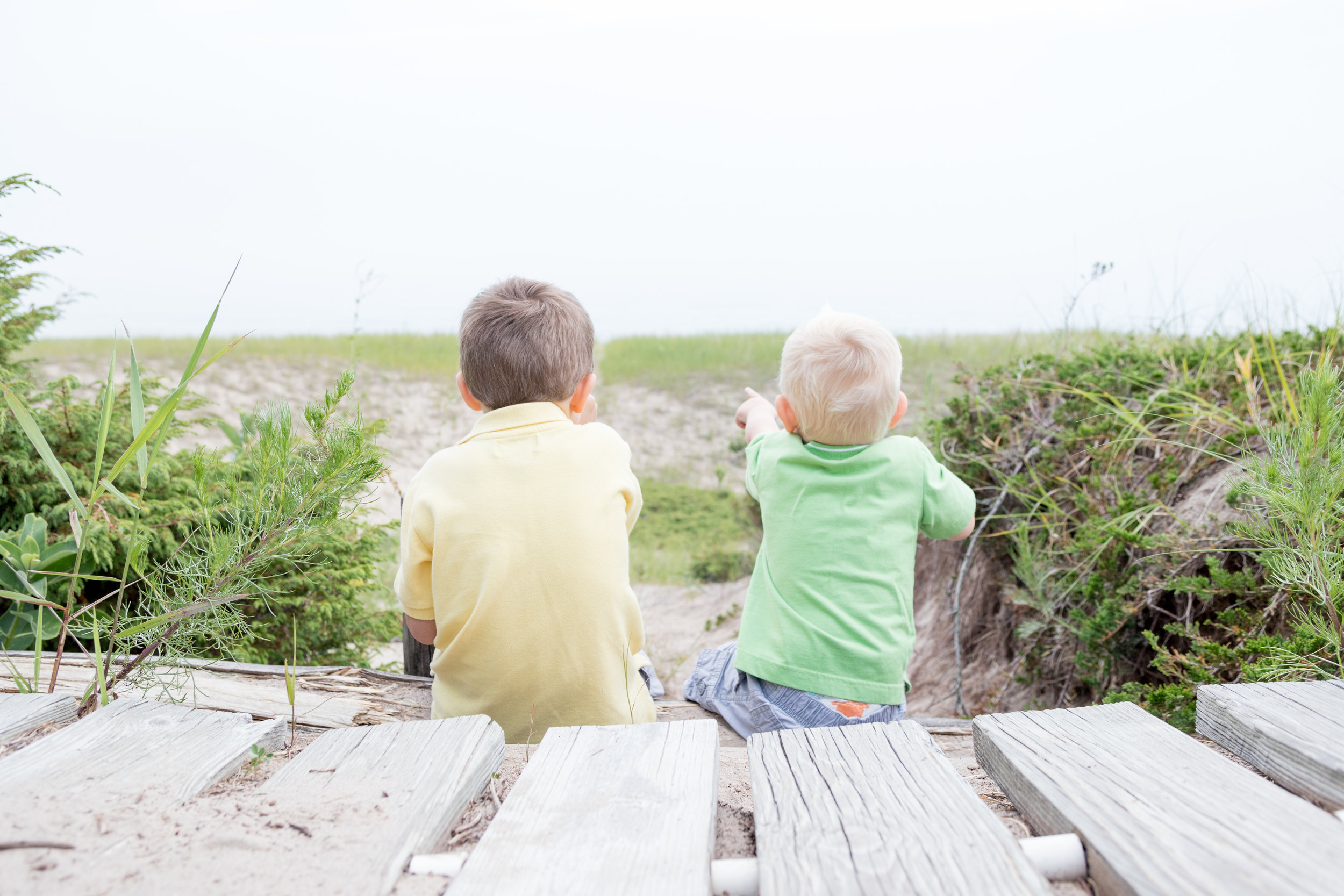 Adventurous Sheboygan Family Photography Beach Session