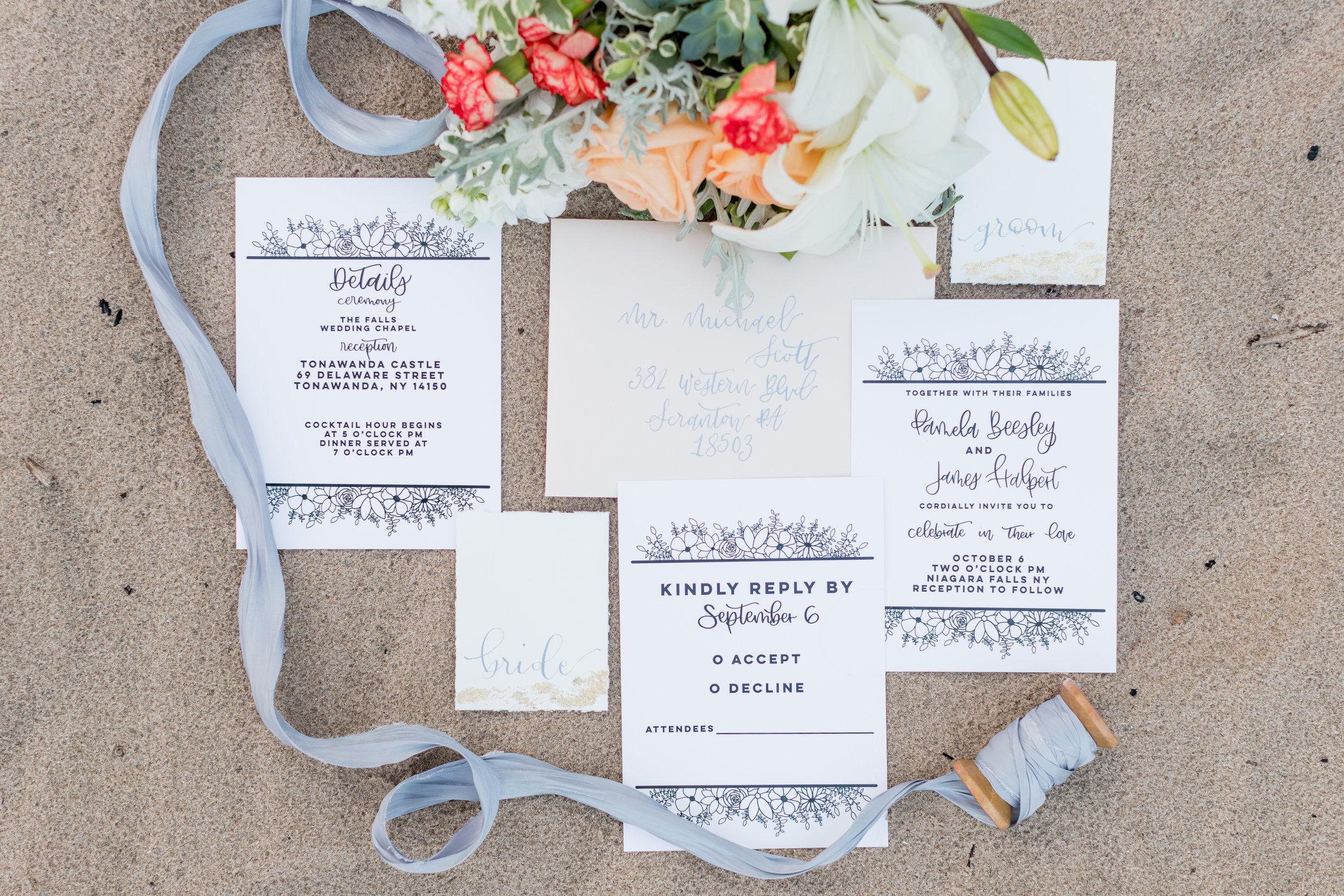 Sheboygan Wisconsin Non-traditional Beach Destination Wedding Photographer