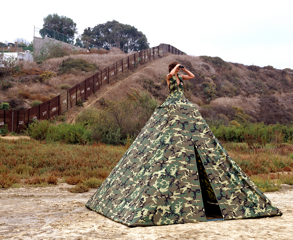 MS. HOMELAND SECURITY - ILLEGAL ENTRY DRESS TENT