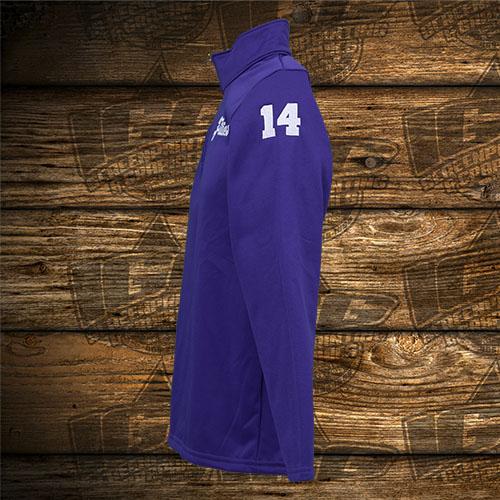 Fillies Player Purple Quarter Zip Sleeve.jpg