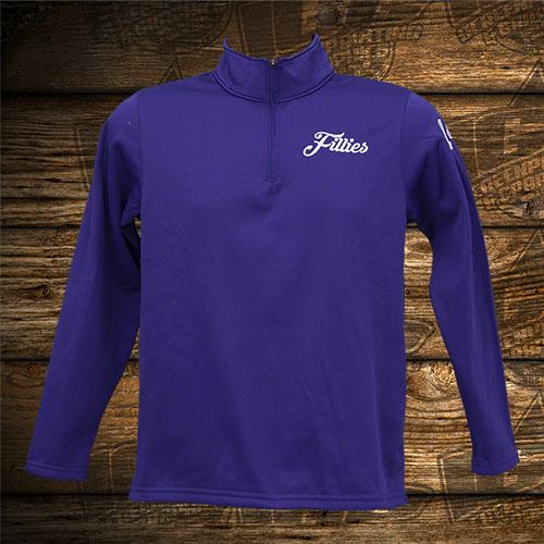 Fillies Player Purple Quarter Zip.jpg