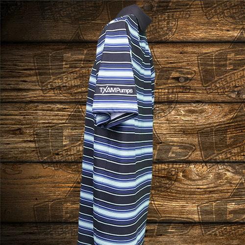 TXAMpumps Blue Stripes Polo Sleeve.jpg