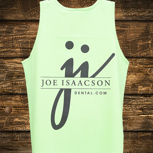 Joe Issacson Dental Green Tanktop Back.jpg
