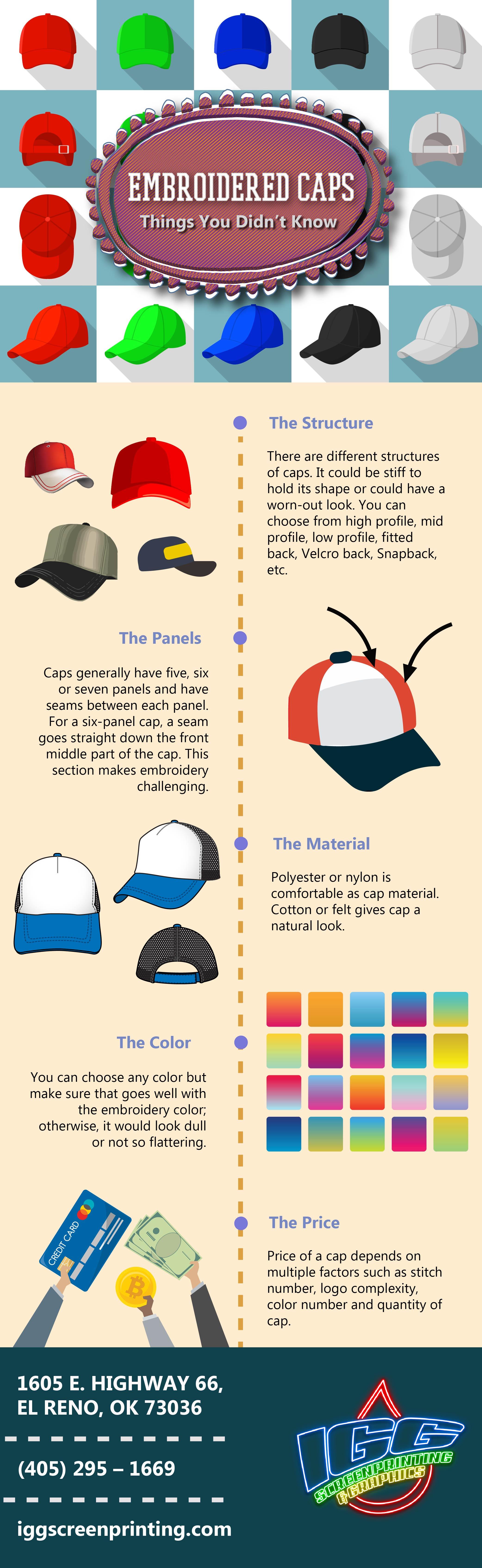 custom hats okc