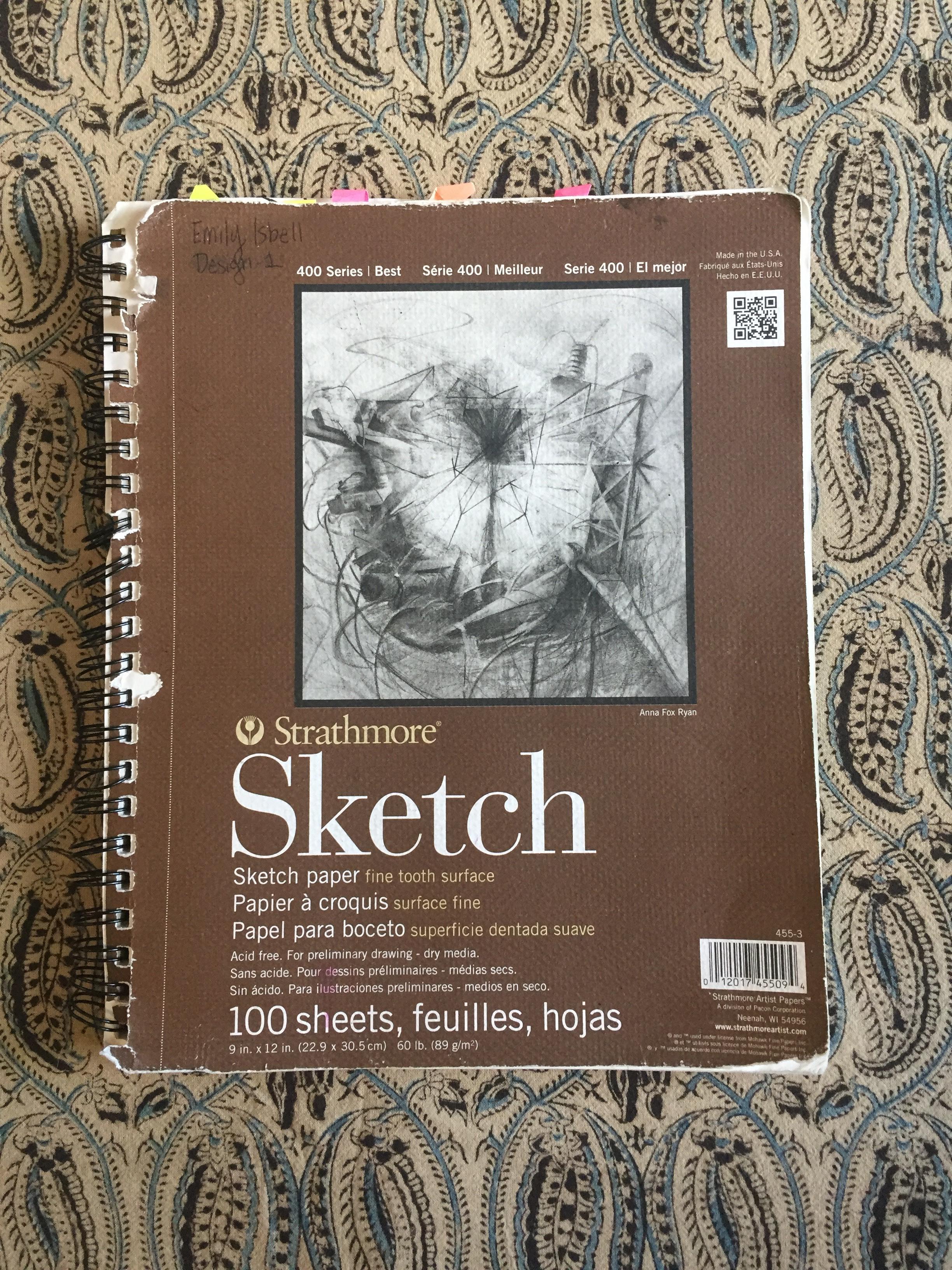Sketchbook 1    2016-2017