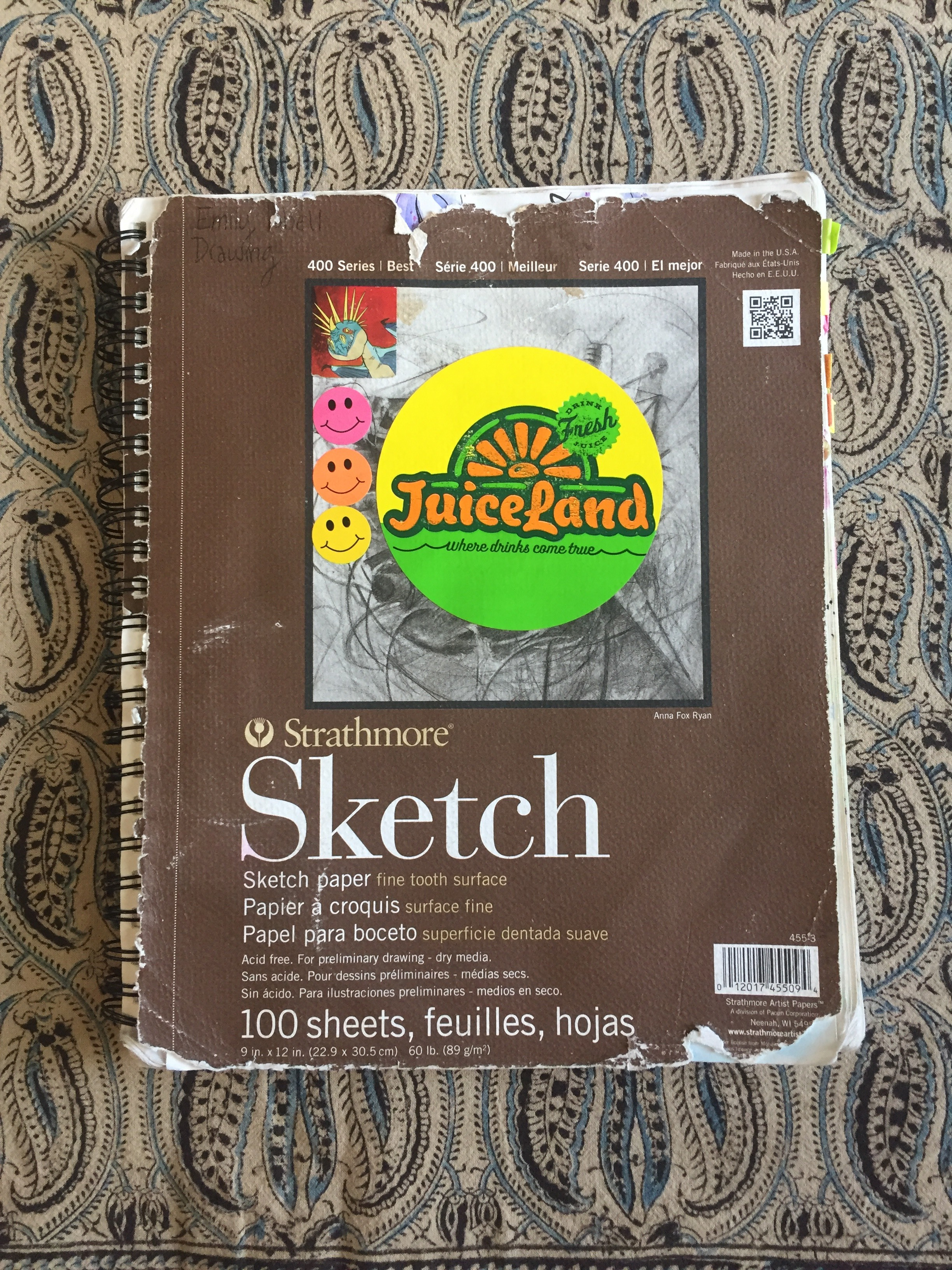 Sketchbook 2    2017
