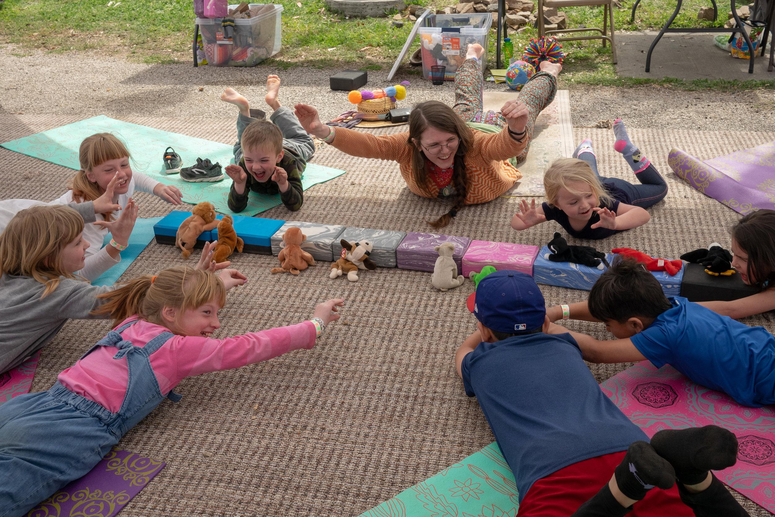 Kids Yoga - and Mindful Play