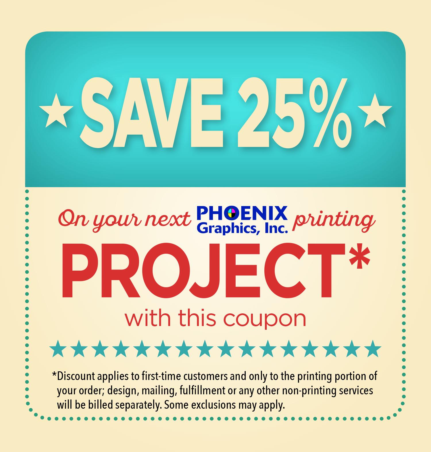 25 Off Phoenix Graphics