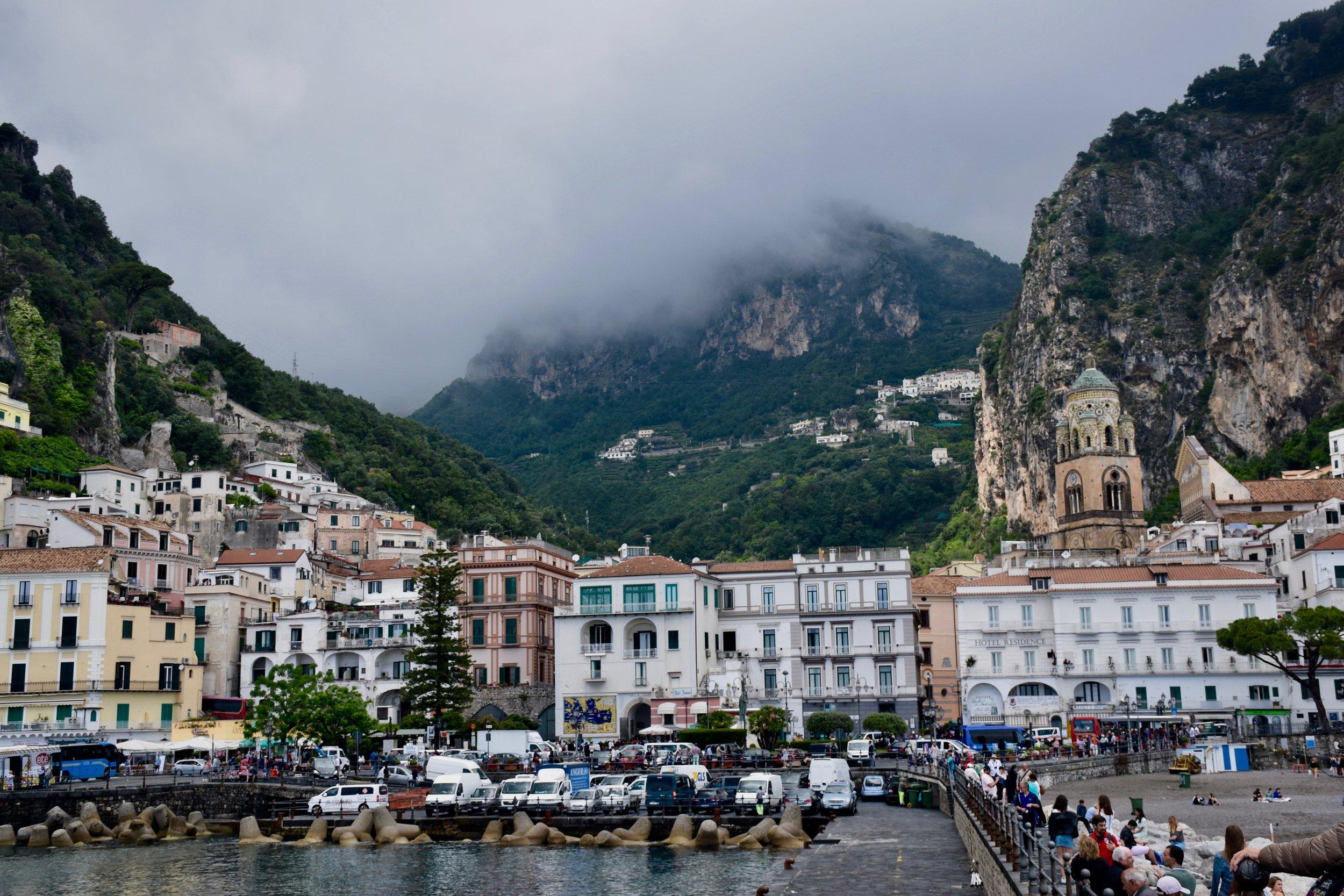 Amalfi, Italy, summer 2018.