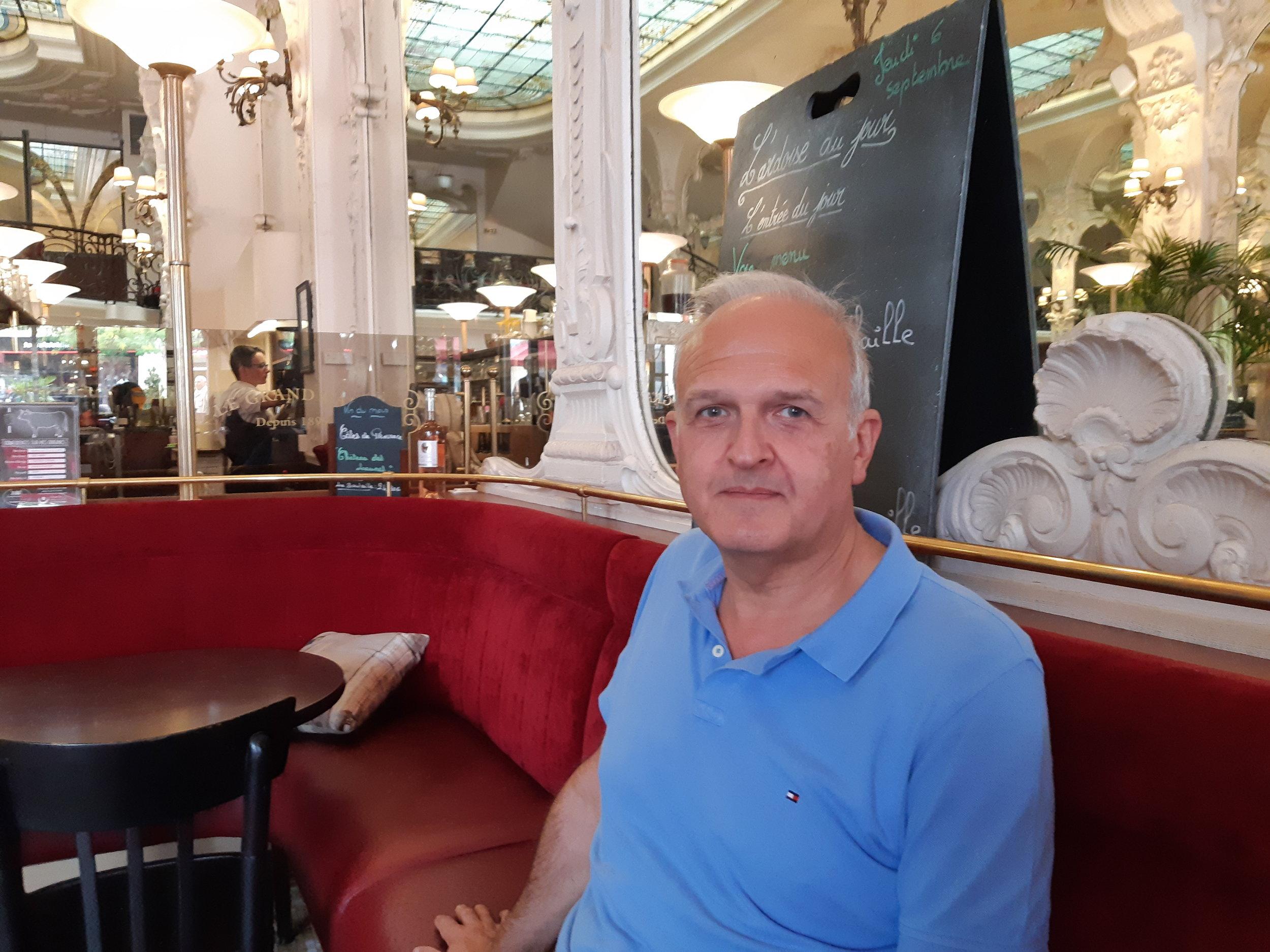 Moulins, Auvergne, The Grand Cafe, September 2018.