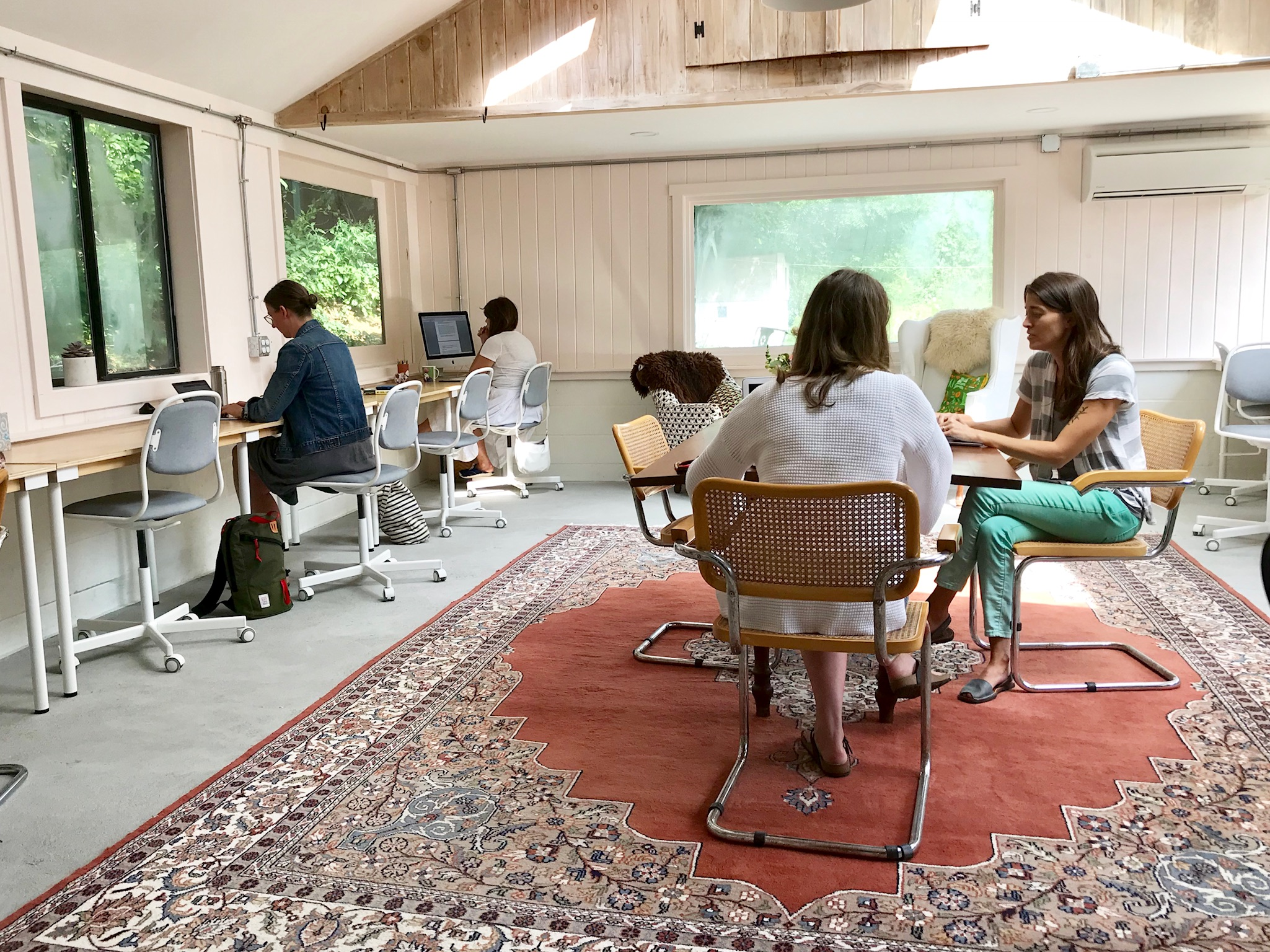 Haven members in the original Haven Shared Workspace.