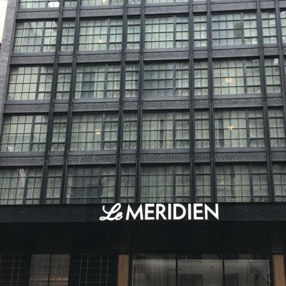 LE MERIDIEN, CENTRAL PARK NEW YORK -