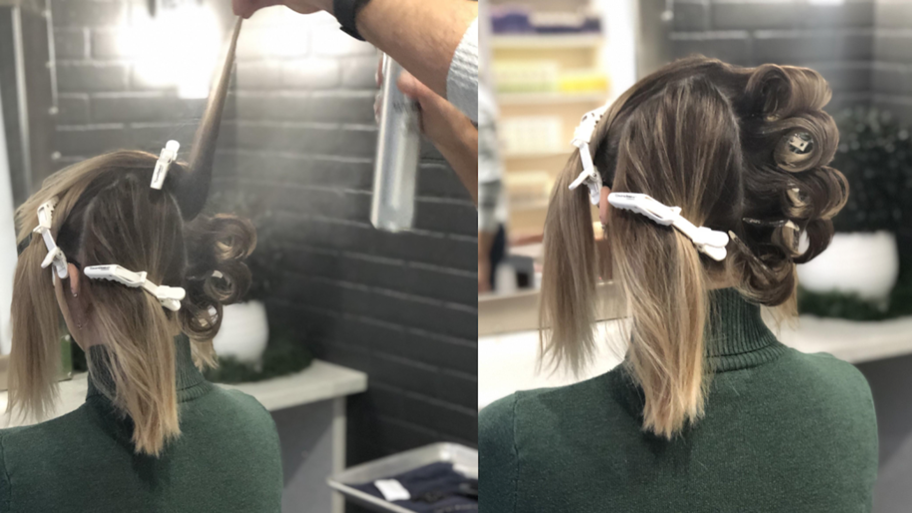 Old Hollywood glamour vintage hair tutorial create loops