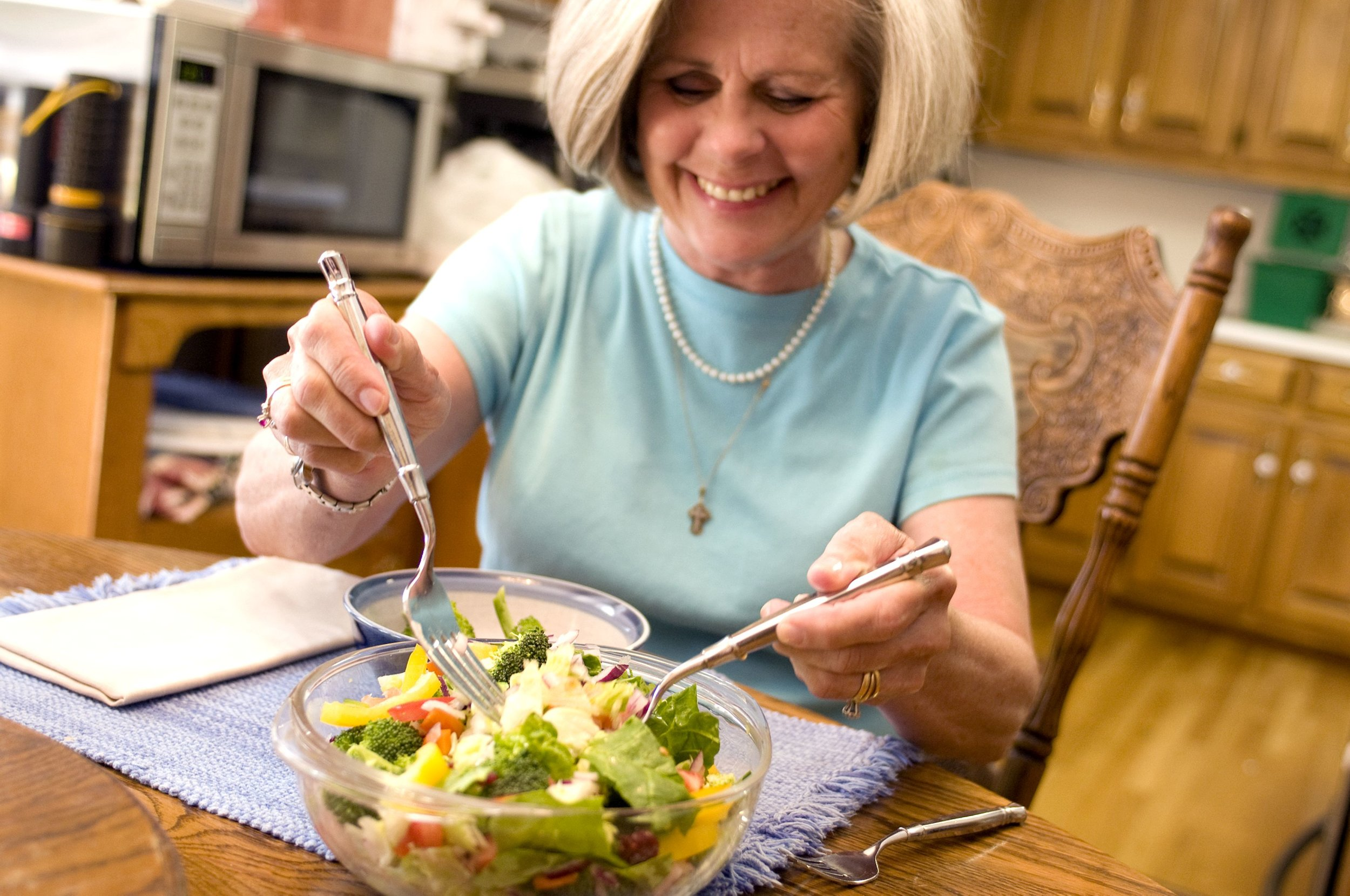 Eating fruit and vegetables in the menopause