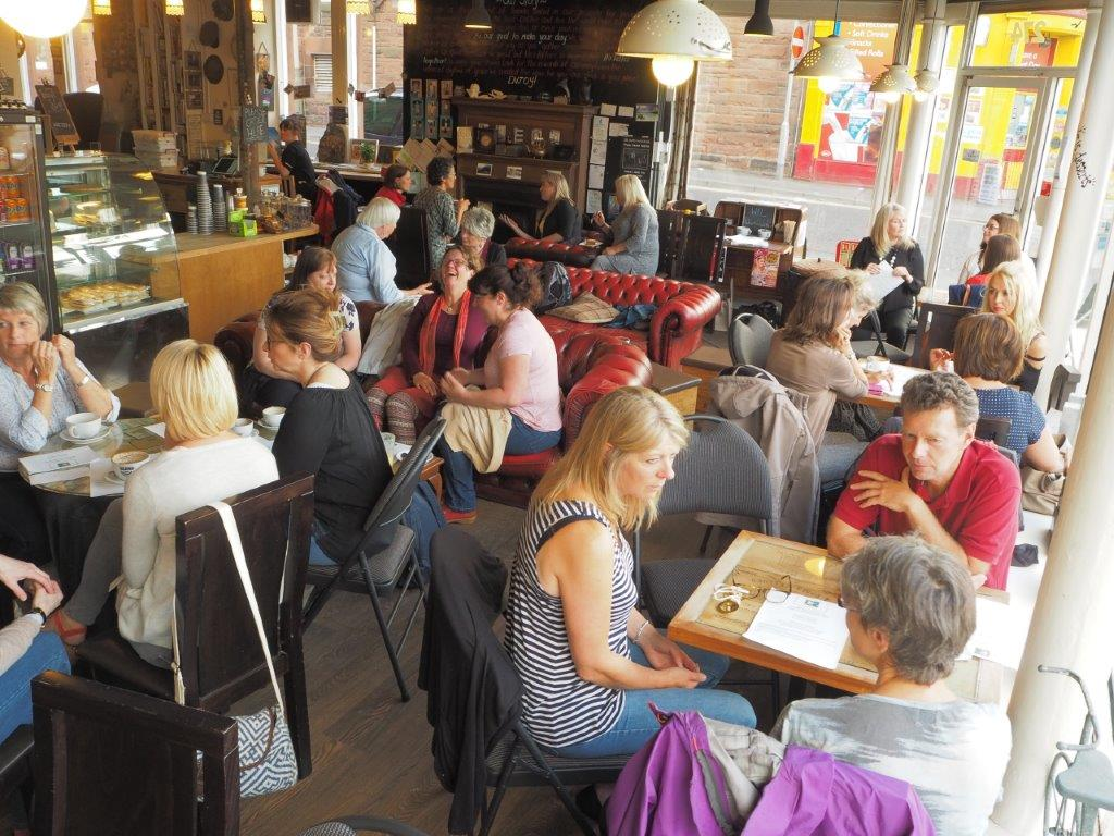 The first Menopause Cafe in Perth