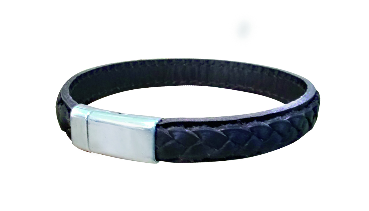 Plaited Leather Bracelet 1.jpg
