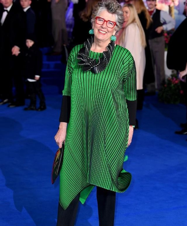 The Great British Bake Off  judge Prue Leith breaks all the rules on loud accessories – and looks amazing