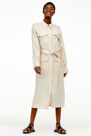 H&M Conscious Linen shirt dress.jpeg