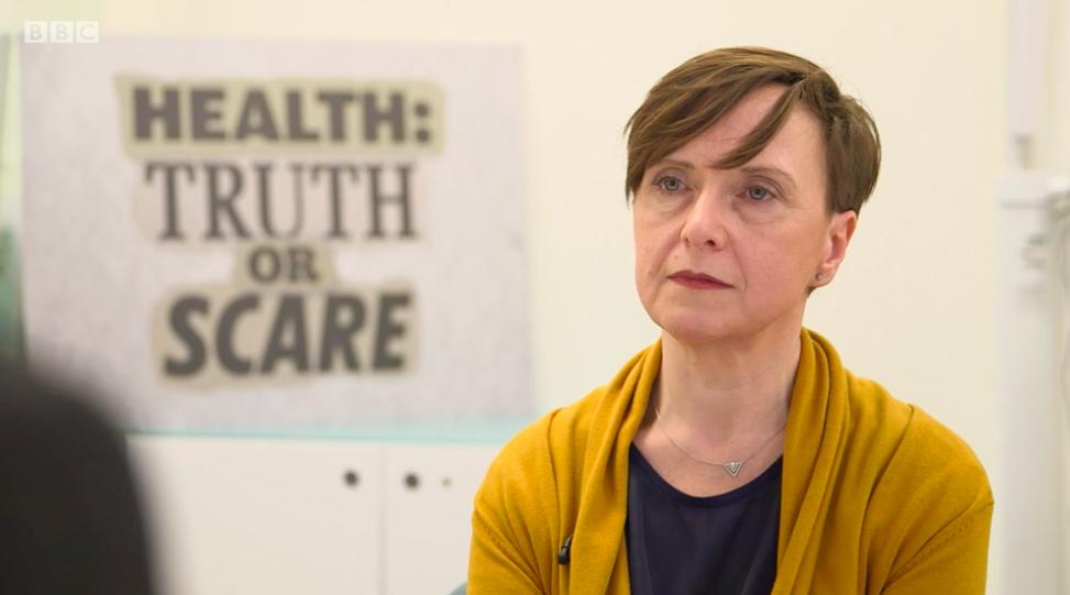 Elizabeth Carr-Ellis on BBC Health: Truth or Scare