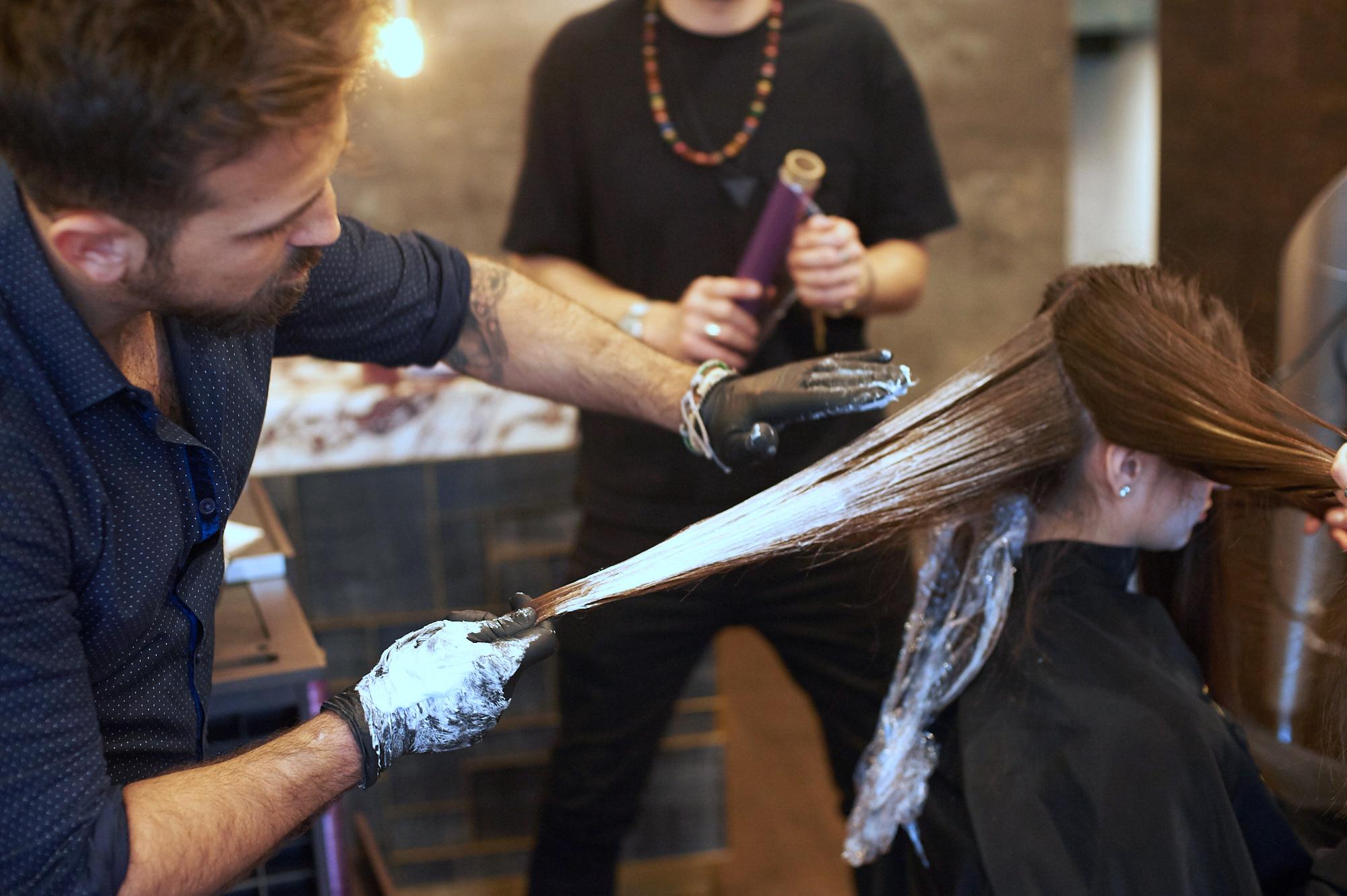 Gennaro Dell'Aquila natural hair dye
