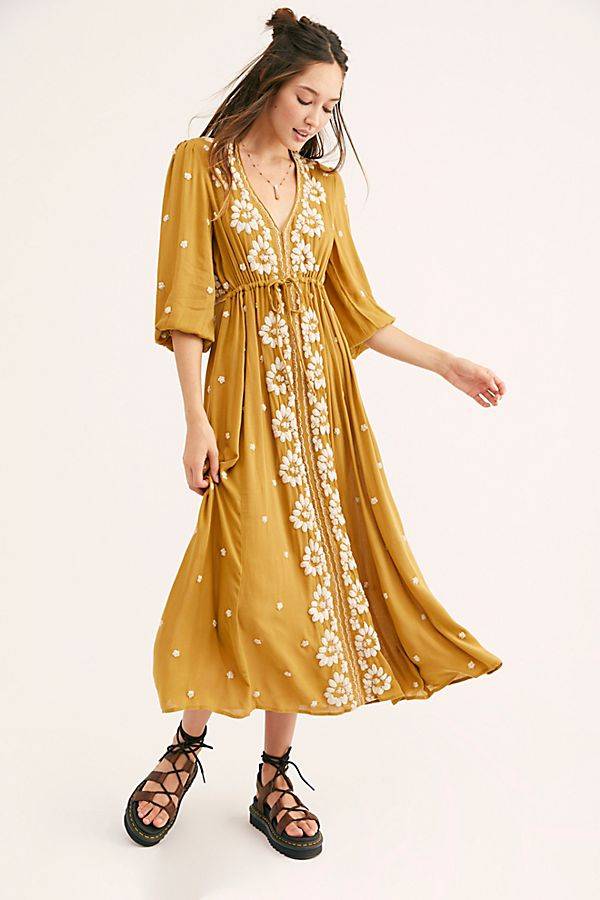 Free People  Embroidered Fable Dress .jpg