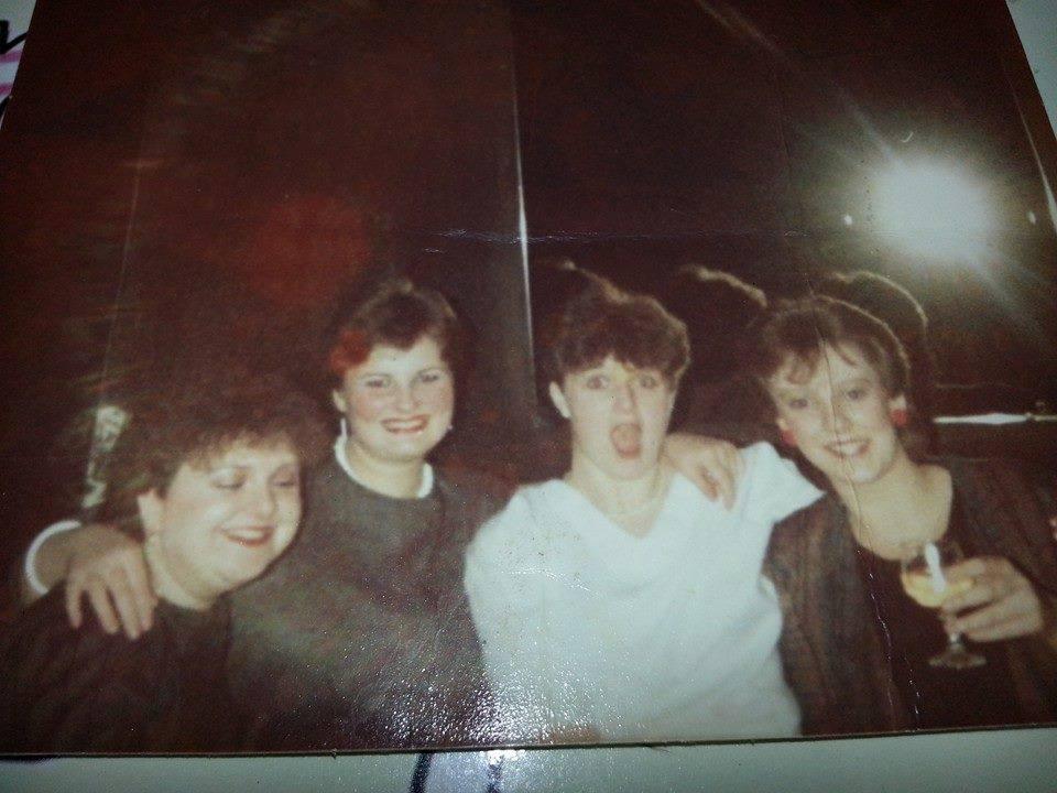 Me (far left) aged 17/18