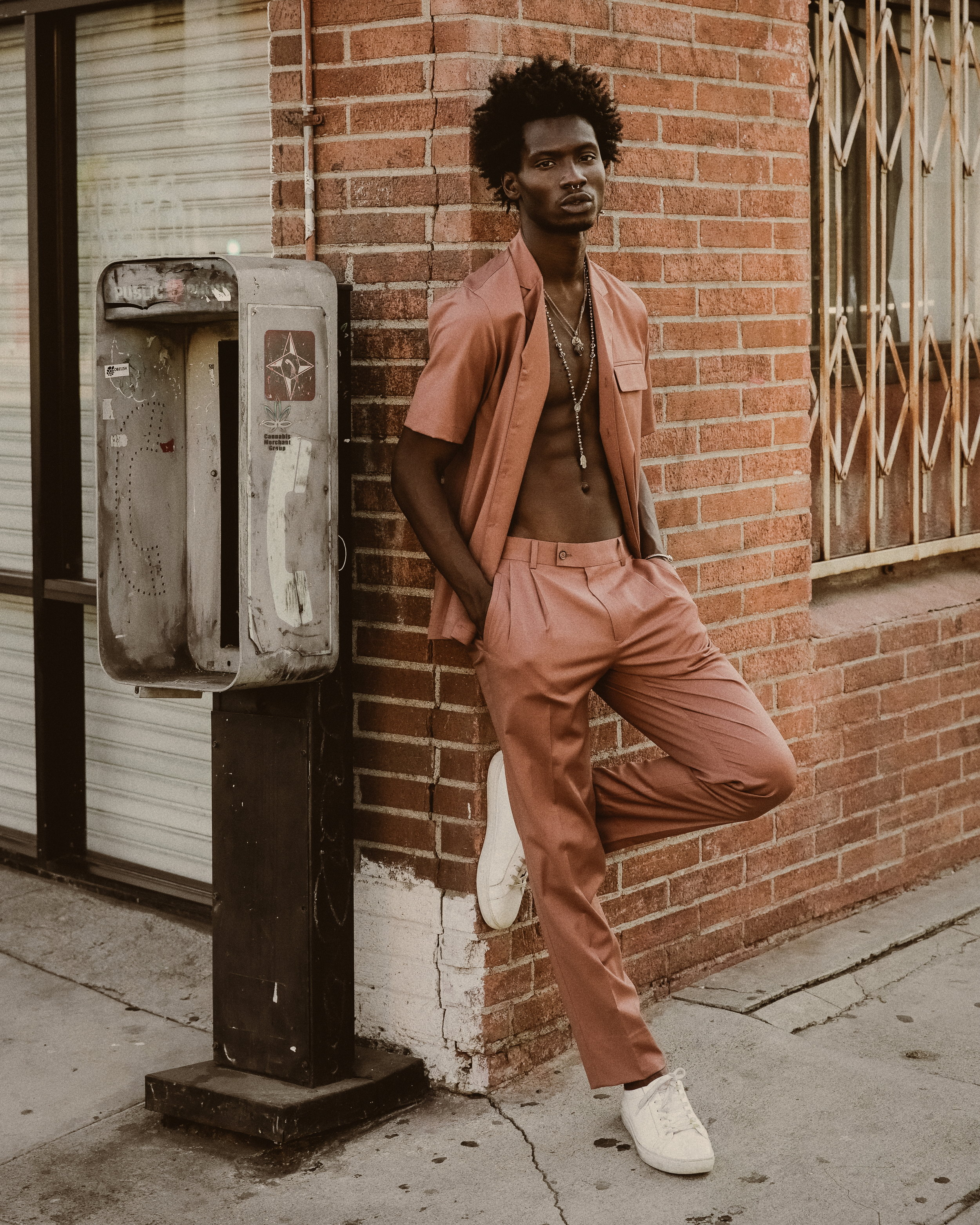 Styling by Ugo Mozie | Photograph by Justin Wu   Shoes - New Republic