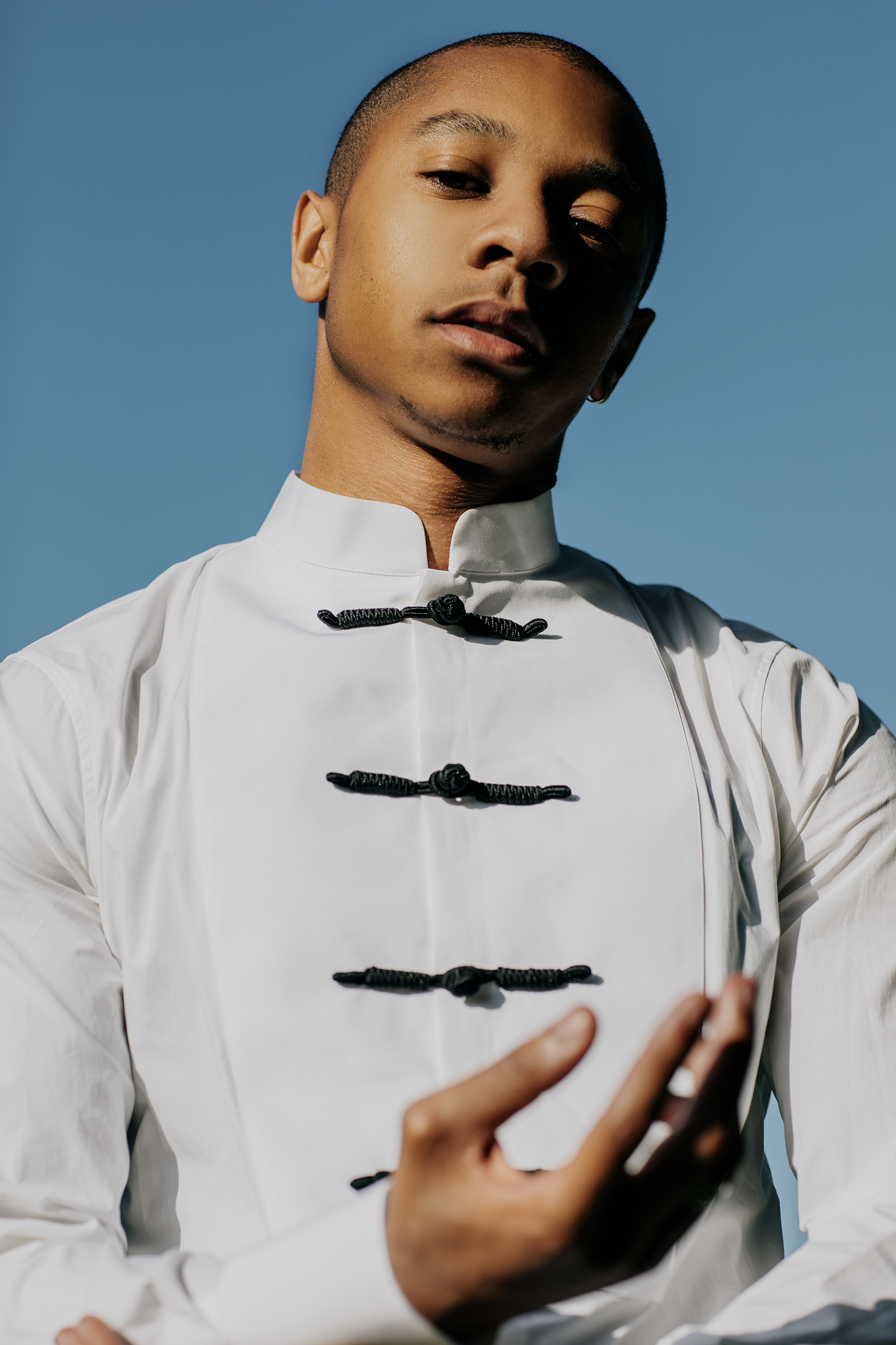 Styling by Ugo Mozie | Photograph by Lloyd Pursall   Shirt - Dsquared2