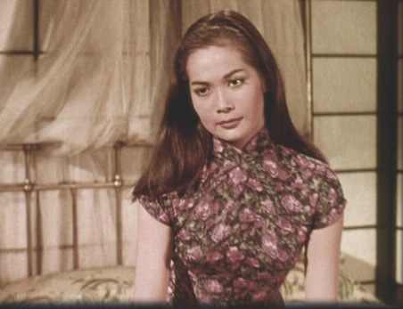 Nancy Kwan in 'The World Of Suzie Wong'   Image Credit