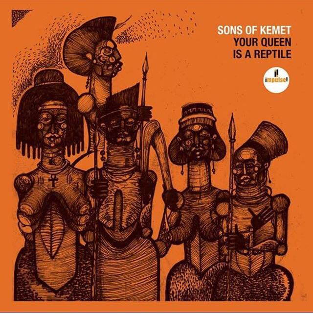 Sons of Kemet's 'Your Queen Is A Reptile' Album Cover   Image Credit
