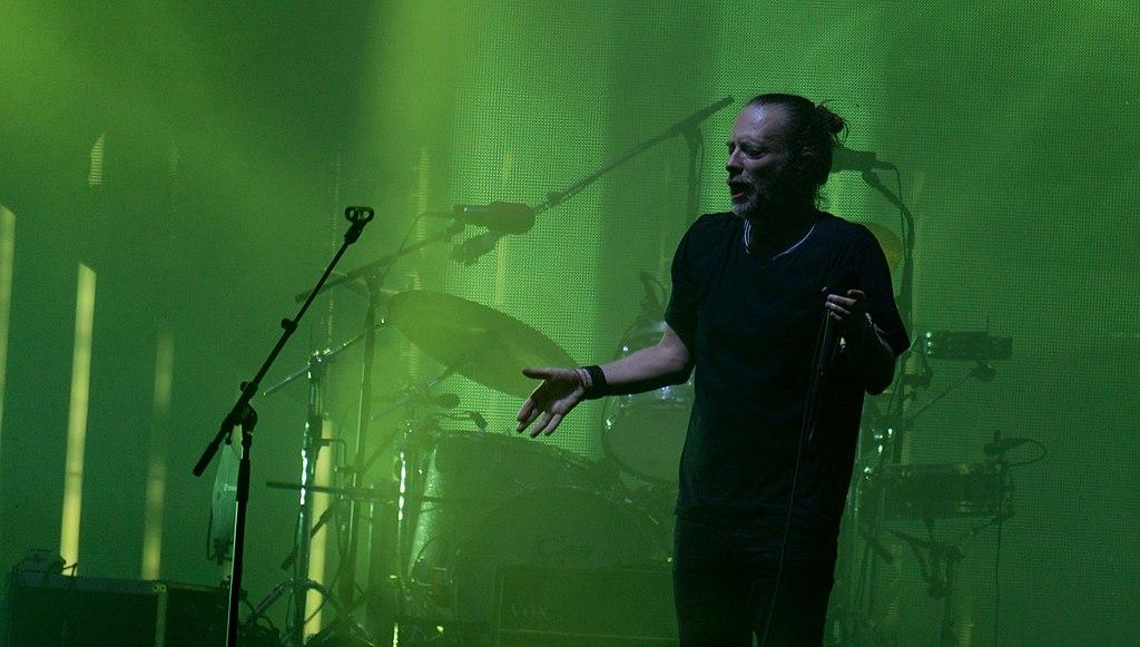 Radiohead performing live     Image Source
